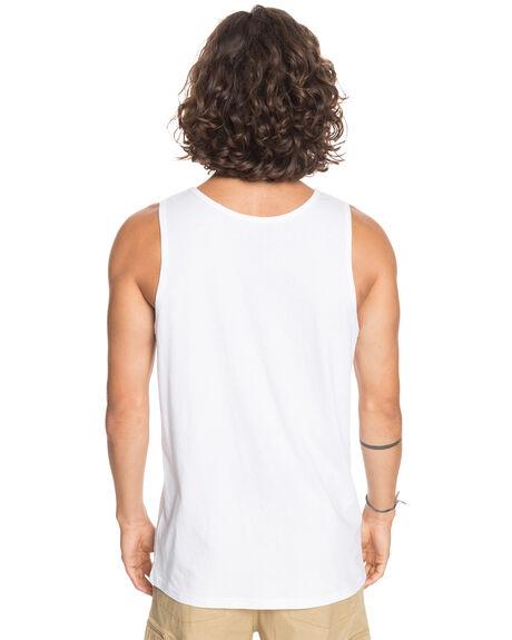 WHITE MENS CLOTHING QUIKSILVER SINGLETS - EQYZT06075-WBB0