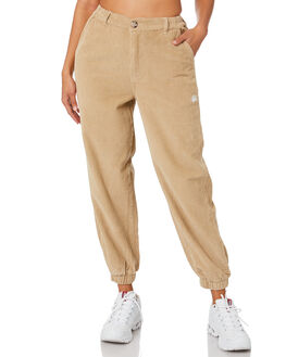 CAMEL WOMENS CLOTHING STUSSY PANTS - ST106603CAM