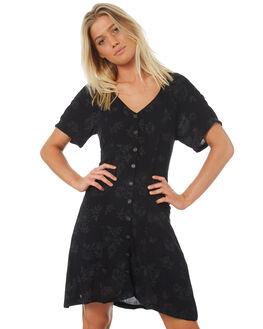 BLACK ROSE WOMENS CLOTHING ELEMENT DRESSES - 283861BLKR