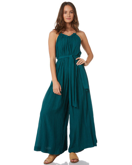 EMERALD WOMENS CLOTHING TIGERLILY PLAYSUITS + OVERALLS - T391437EME