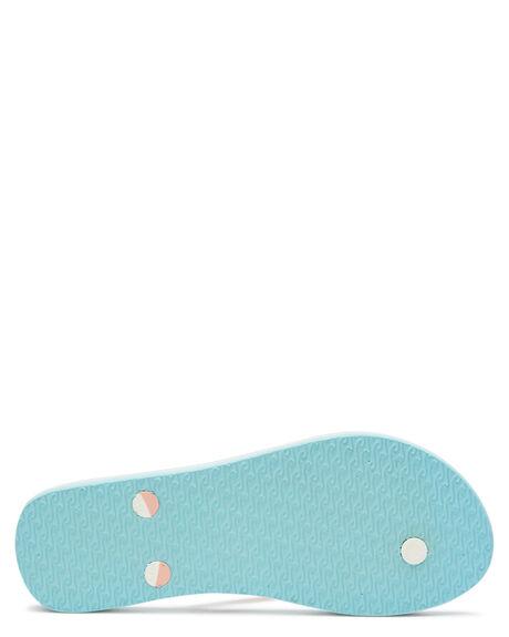 PINK BLUE WOMENS FOOTWEAR RIP CURL THONGS - TGTE731731