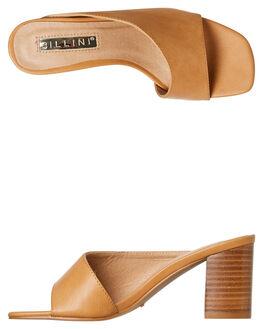 CAMEL WOMENS FOOTWEAR BILLINI HEELS - H1319CAMEL