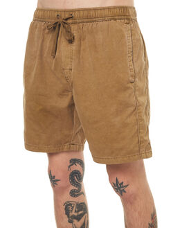 PIGMENT TAN MENS CLOTHING NO NEWS BOARDSHORTS - N5171232PGTAN