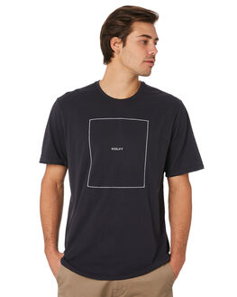 OIL GREY MENS CLOTHING HURLEY TEES - AR7109013