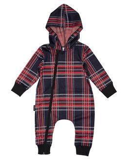BLACK KIDS BABY TINY TRIBE CLOTHING - TTF19-6037CBLK