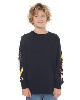 BLACK KIDS BOYS RUSTY TEES - TTB0569BLK