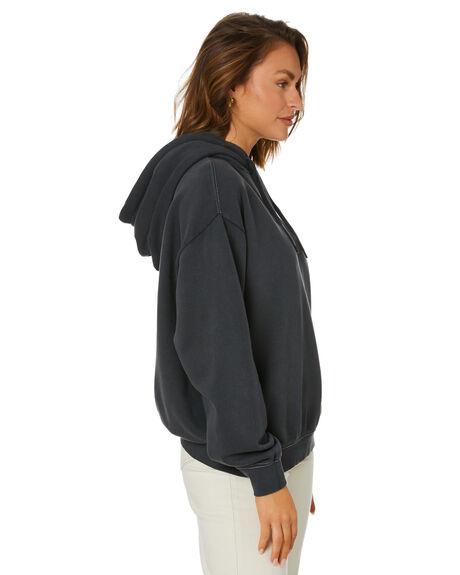VINATGE BLACK WOMENS CLOTHING MISFIT HOODIES + SWEATS - MT115305VBLK