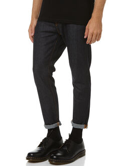 DRY NAVY COMFORT MENS CLOTHING NUDIE JEANS CO JEANS - 112008DNVYC