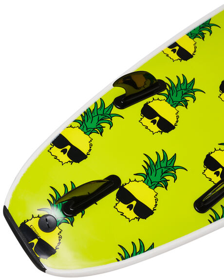 WHITE BOARDSPORTS SURF CATCH SURF SOFTBOARDS - WB70-BGWHT