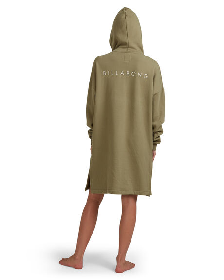 OLIVE WOMENS ACCESSORIES BILLABONG TOWELS - 6613722-OLV