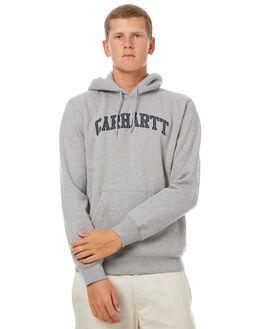 GREY HEATHER MENS CLOTHING CARHARTT JUMPERS - IO22705V690