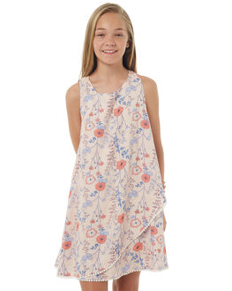 FOLKY PRINT KIDS GIRLS EVES SISTER DRESSES - 9900063PRNT