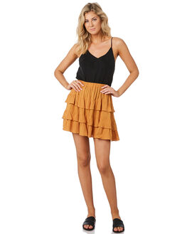 GOLD WOMENS CLOTHING MINKPINK SKIRTS - MP1903432GLD
