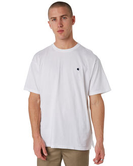 WHITE MENS CLOTHING CARHARTT TEES - I023875WHT