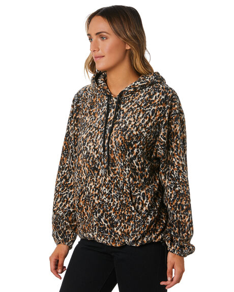 LEOPARD WOMENS CLOTHING VOLCOM JUMPERS - B3131909LEO