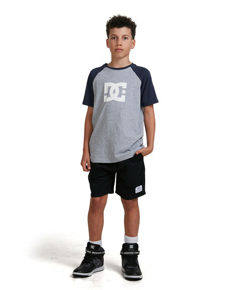 BLACK KIDS BOYS DC SHOES SHORTS - UDBWS03004-KVJ0