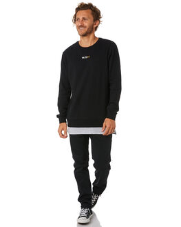 BLACK MENS CLOTHING ST GOLIATH JUMPERS - 4320057BLK