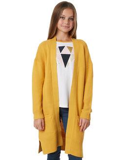GOLDEN HONEY KIDS GIRLS EVES SISTER JUMPERS - 9910066YLW