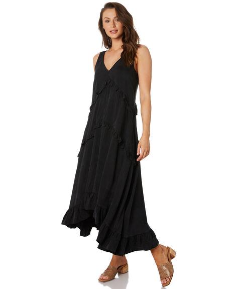 ONYX BLACK WOMENS CLOTHING SANCIA DRESSES - 889A_BLK