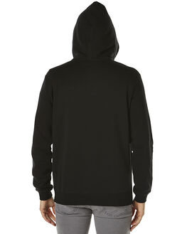BLACK MENS CLOTHING RVCA JUMPERS - R163163BLK