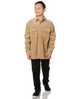 LIGHT FENNEL KIDS BOYS RUSTY TOPS - WSB0205LFN
