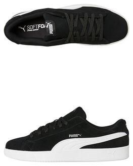 BLACK WHITE MENS FOOTWEAR PUMA SNEAKERS - 36736601BLKW