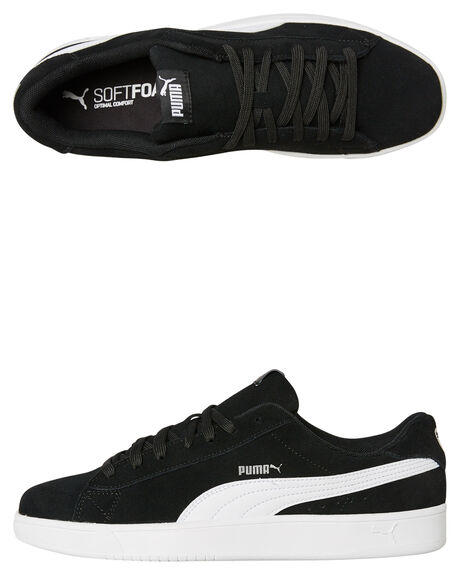 BLACK WHITE MENS FOOTWEAR PUMA SNEAKERS - 36736601BLKW