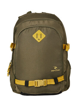 MILITARY GREEN MENS ACCESSORIES RIP CURL BAGS + BACKPACKS - BBPWG10854
