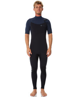 STONE SLATE BLACK SURF WETSUITS ADELIO STEAMERS - 22CSASSSTONE