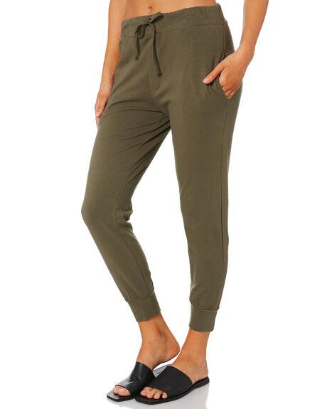 KHAKI WOMENS CLOTHING SILENT THEORY PANTS - 6041011KHK
