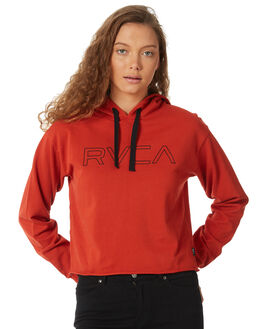 KETCHUP WOMENS CLOTHING RVCA JUMPERS - R284157KETCH
