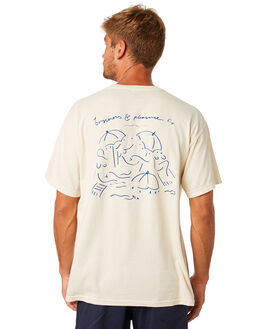 FRENCH WHITE MENS CLOTHING BUSINESS AND PLEASURE CO TEES - BPS-BSQ-FCH-WHT