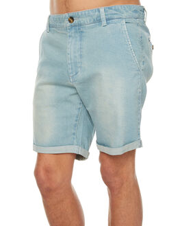 LIGHT BLUE MENS CLOTHING ACADEMY BRAND SHORTS - 18S694LBLU