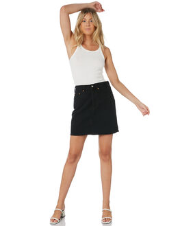 LEFT BEHIND WOMENS CLOTHING LEVI'S SKIRTS - 77882-0008