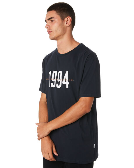 NAVY MENS CLOTHING RPM TEES - 9AMT05BNVY