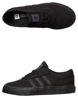 BLACK BLACK KIDS BOYS ADIDAS ORIGINALS SNEAKERS - BY4072BKBK