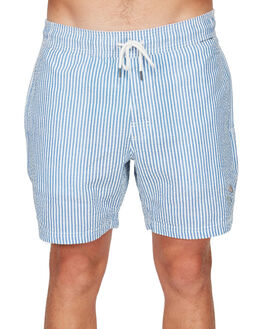 SKY BLUE MENS CLOTHING RVCA SHORTS - RV-R192313-SKY