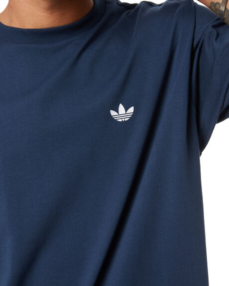 CREW NAVY WHITE MENS CLOTHING ADIDAS TEES - GP1514CNW