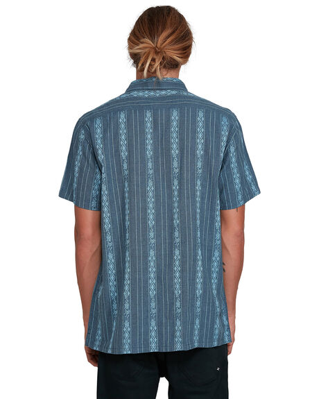 NAVY MENS CLOTHING BILLABONG SHIRTS - BB-9503204-NVY