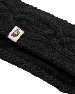BLACK WOMENS ACCESSORIES THE NORTH FACE HEADWEAR - NF0A3FHXJK3BLK