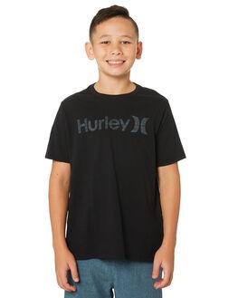 BLACK KIDS BOYS HURLEY TOPS - AO2239-010
