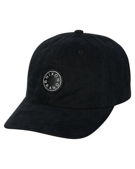 BLACK MENS ACCESSORIES NIXON HEADWEAR - C2927000