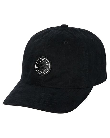 BLACK MENS ACCESSORIES NIXON HEADWEAR - C2927000