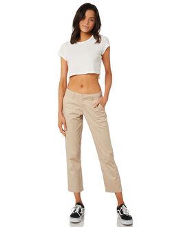 OXFORD TAN WOMENS CLOTHING VOLCOM PANTS - B1111800OXF