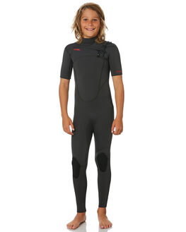 ALL JET BLACK BOARDSPORTS SURF XCEL BOYS - KN22ZXC9JBJ