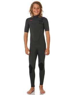 ALL JET BLACK BOARDSPORTS SURF XCEL BOYS - KN22ZXC9JBJ
