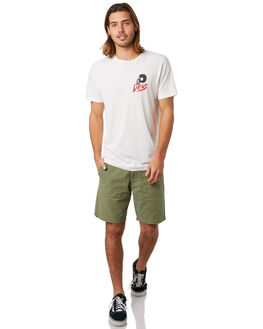 VINTAGE WHITE MENS CLOTHING DEUS EX MACHINA TEES - DMP91787EVNWHT