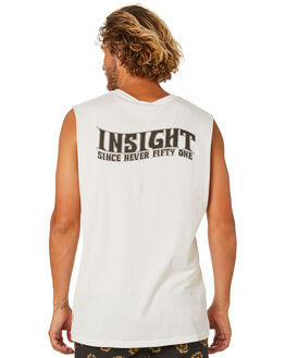 OFF WHITE OUTLET MENS INSIGHT SINGLETS - 1000083861OFFWT