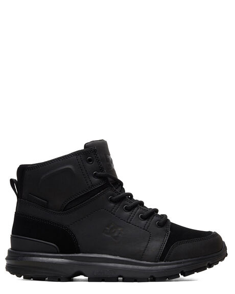 BLACK/BLACK/BLACK MENS FOOTWEAR DC SHOES BOOTS - ADYB700026-3BK