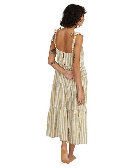 OLIVE WOMENS CLOTHING BILLABONG DRESSES - UBJWD00192-OLV